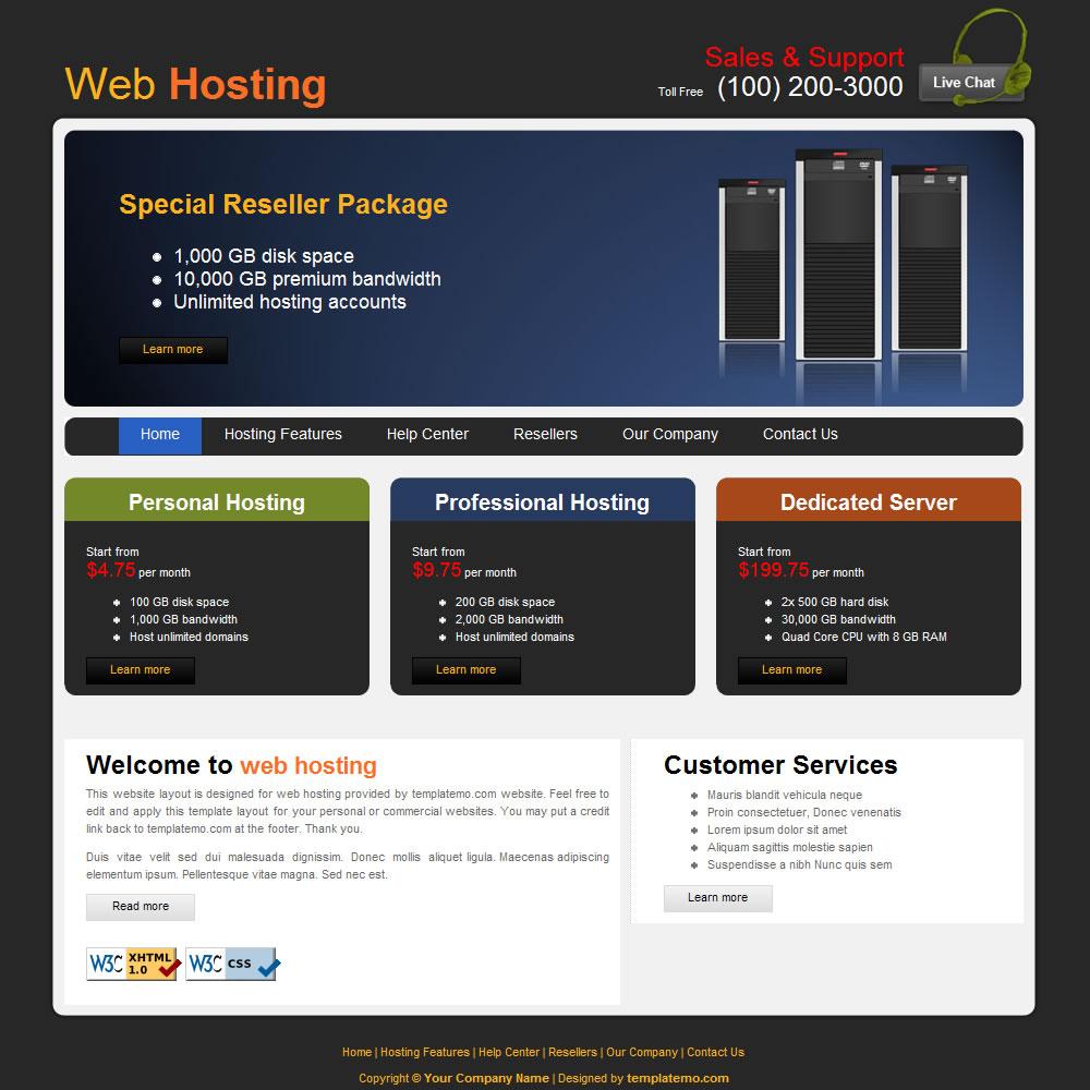 web page design free