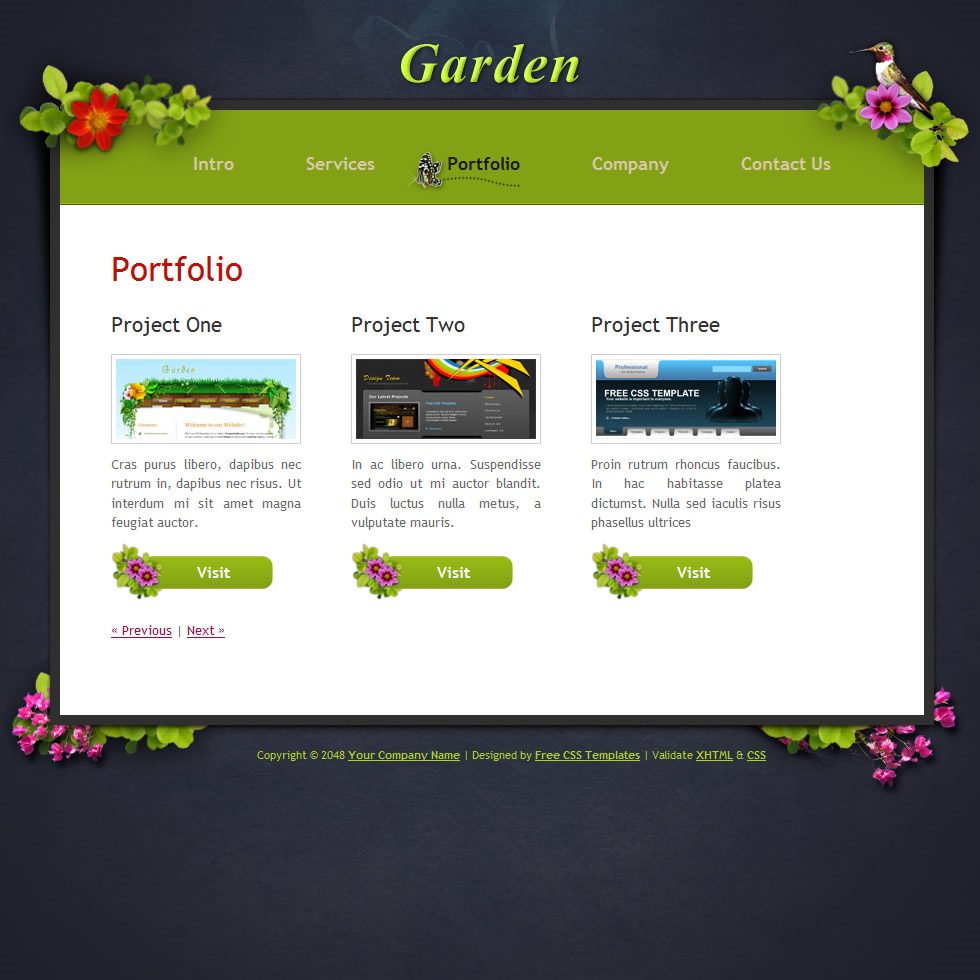 240 garden template