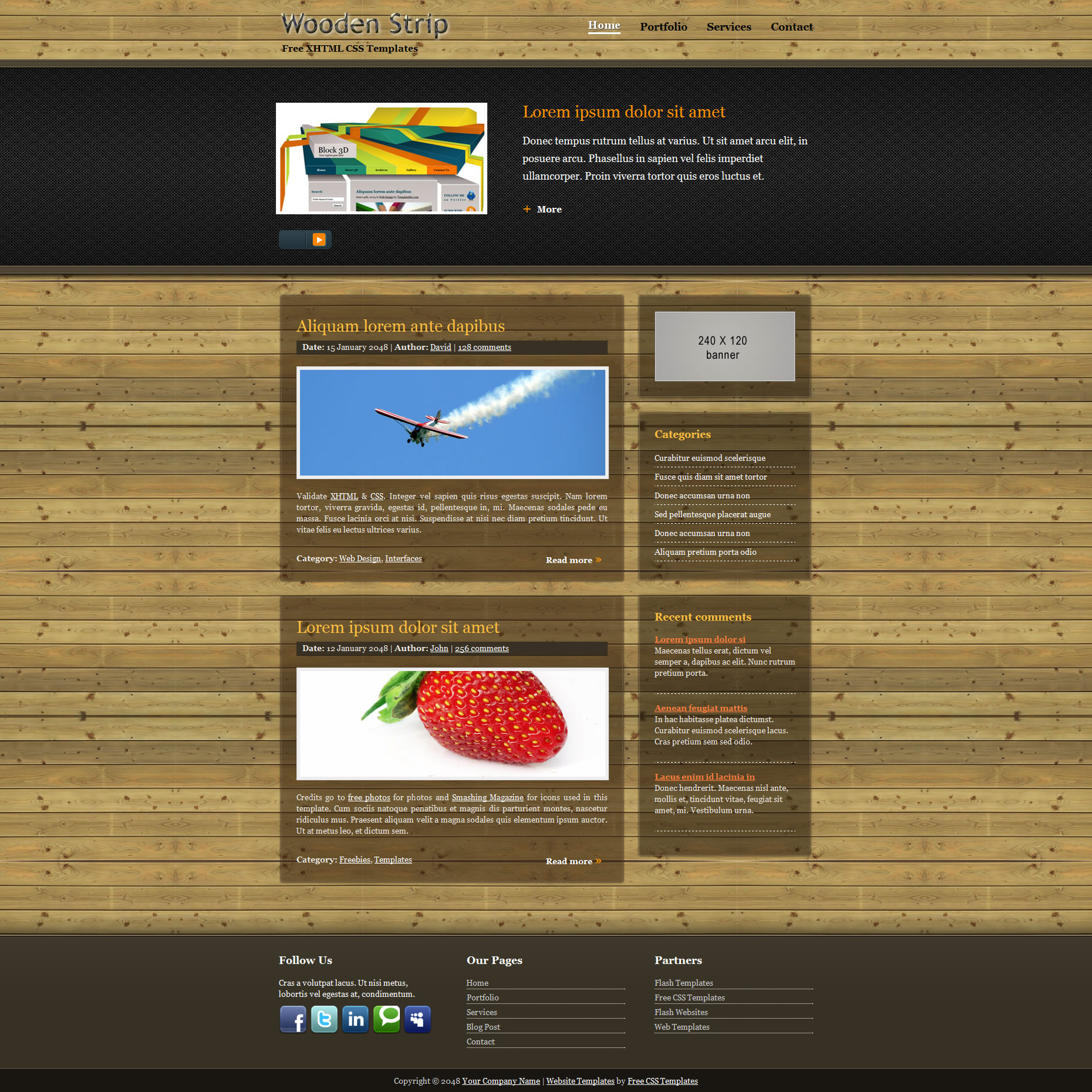 Fantastic Free 3d Website Templates Contemporary - Entry Level ...