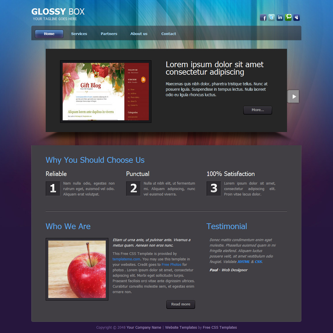3d website templates