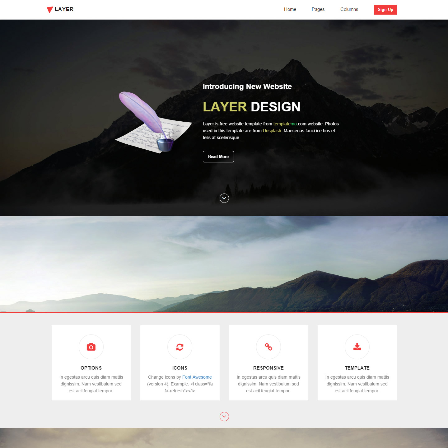 animated website templates