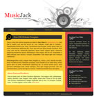 templatemo 006 music jack Tr.gg CSS Tasarımlar