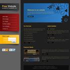 templatemo 028 dark gray Tr.gg CSS Tasarımlar