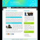 templatemo 029 light blue Tr.gg CSS Tasarımlar