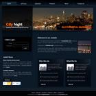 templatemo 039 citynight Tr.gg CSS Tasarımlar