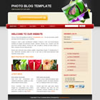 templatemo 040 photoblog Tr.gg CSS Tasarımlar