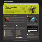 templatemo 087 solution Tr.gg CSS Tasarımlar