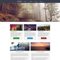 476 conquer responsive template
