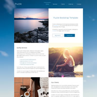 477 puzzle responsive template
