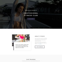 487 fitness responsive template