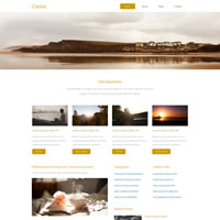 488 classic responsive template