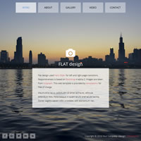 491 flat responsive template