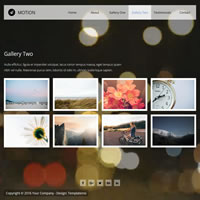 494 motion responsive template