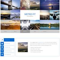 495 metro fit responsive template