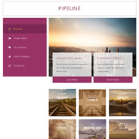 496 pipeline responsive template