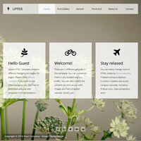 497 upper responsive template